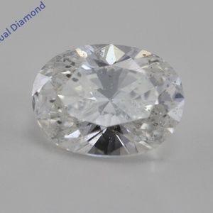 Oval Cut Loose Diamond 0.7 Ct G I1 K.M C200352